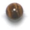 Semi-Precious 8mm Round Tiger Eye Brown